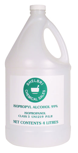Isopropyl Alcohol 99% Horse Supply  antiseptic for Horses and dogs (4x4L)