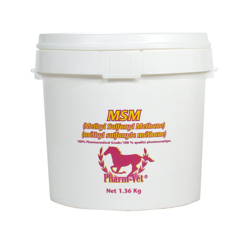 MSM POWDER 1.36KG promotes healthy joints and ligaments.