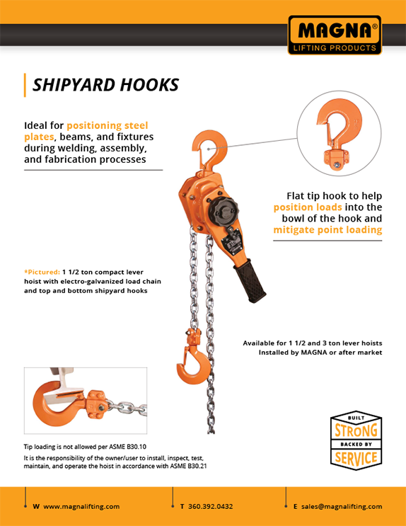 Shipyard Hook Flyer
