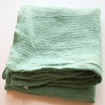 Green Huck/Surgical Towels - 10 LB Box