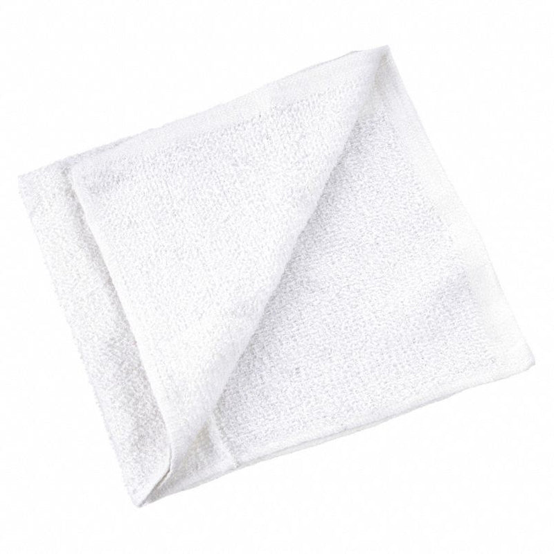 "Economy Ribbed Terry Towel Rags 14""x17"" 220 Towels"