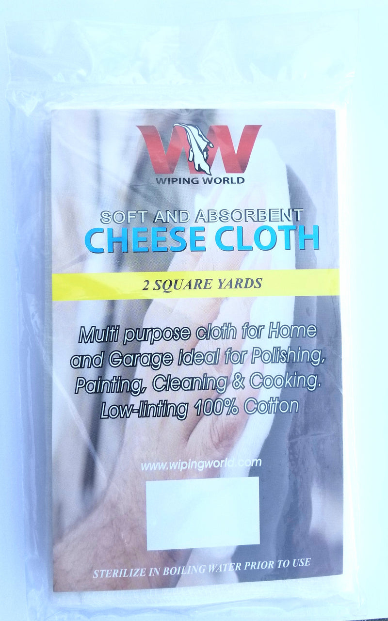 Cheesecloth, 2 Square Yards -12 Packs