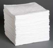 P100: Oil Only Sorbent Pads - Heavy Weight