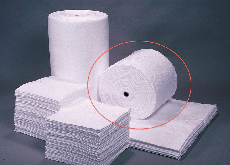 SR144: Oil Only Sorbent Split Rolls - Heavy Weight