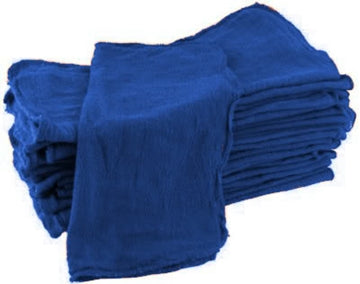 Blue Shop Towels - 200 Pieces