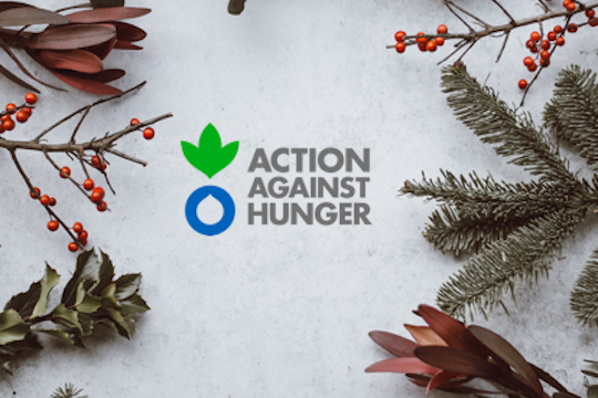 Action Against Hunger Donation