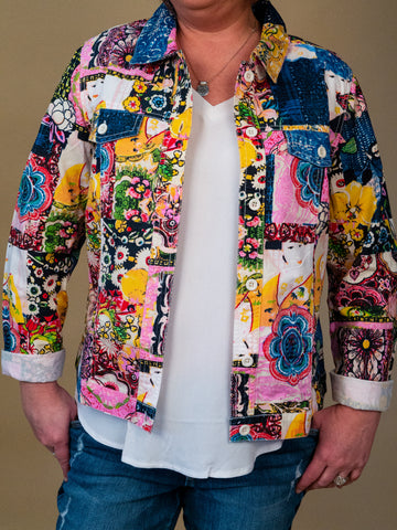 Ronnie Salloway - Novelty Print Jacket