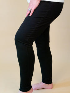 Picadilly - Pull-On Black Leggings