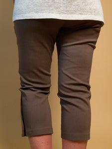 Picadilly - Button-Detailed Earth Pants