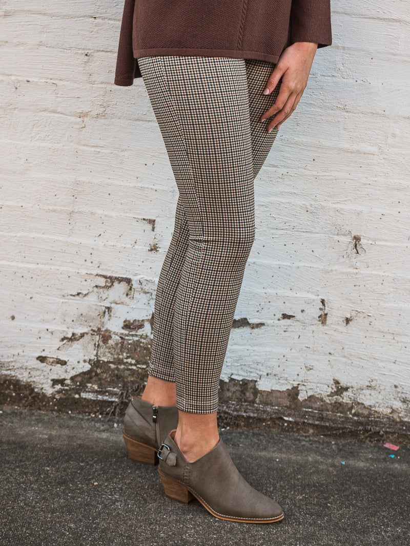 Ronnie Salloway - Brown Plaid Pants