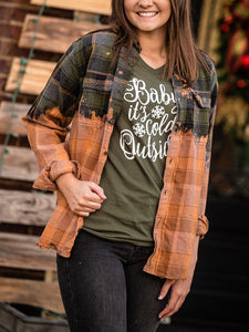 Stone Creek Designs - Acid-Washed Flannel