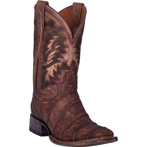 Dan Post Brown Gator Print Boots for Men