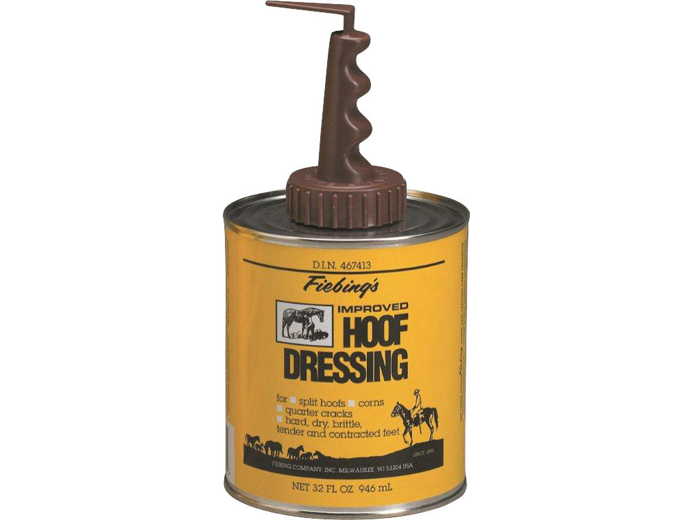 Pard's Western Shop Fiebing's Hoof Dressing with Brush Applicator