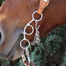 3 Piece Twisted Wire Futurity Gag Snaffle Bit