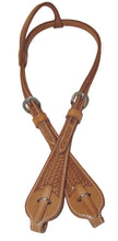 Pard's Western Shop Advantage Basket Stamped Quick Change Headstall