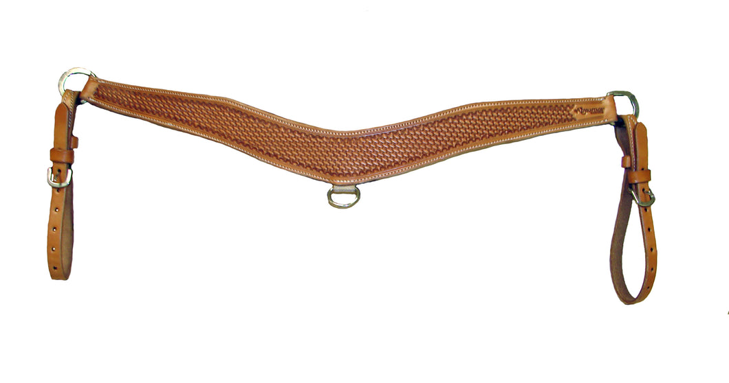 Advantage Contoured Basket Stamped Breastcollar