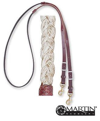 Braided Roping Rein from Martin Saddlery