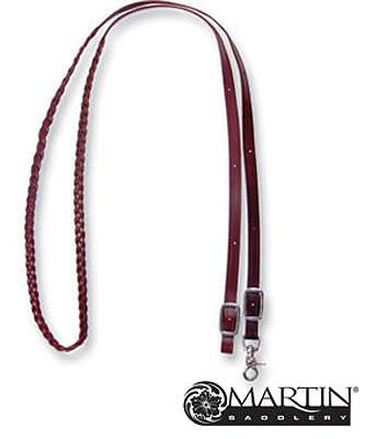 3 Plait Roping Reins from Martin Saddlery