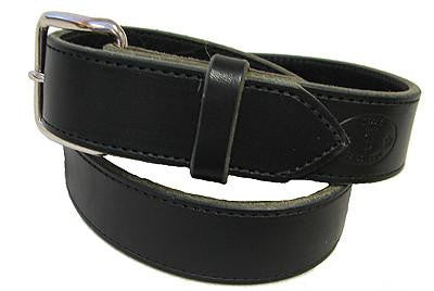 Black Latigo Leather Belt from Texas Saddlery