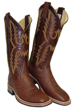 Rod Patrick Tabac Smooth Ostrich Boots with EverSole