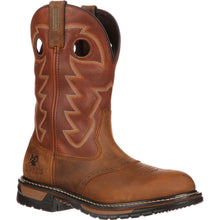 Rocky Boots Branson Saddle Roper Work Boot