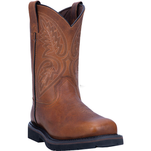 Laredo Brown Colfax Steel Toe Work Boots for Men