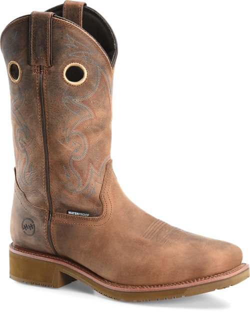 Pard's Western Shop Double H Waterproof Earthquake Rust Boots with Composite Toe