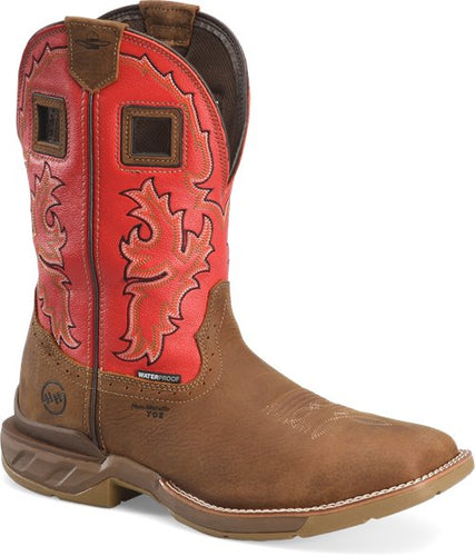 Double H Brown Henly Work Boot with Composite Toe