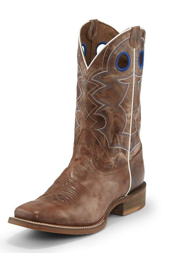 Nocona Go Round Tan Boots for Men