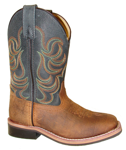 Brown/Navy Jesse Boots from Smoky Mountain Boots