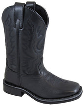 Black Outlaw Square Toe Boots from Smoky Mountain Boots