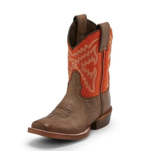 Nocona Chocolate Fynn Boots for Kids