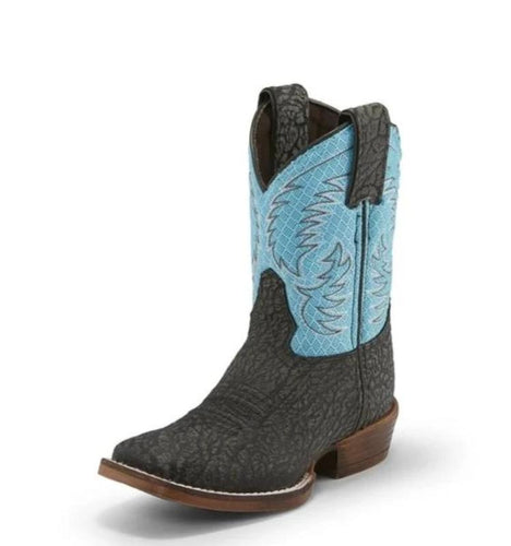 Nocona Black Fynn Boots for Kids