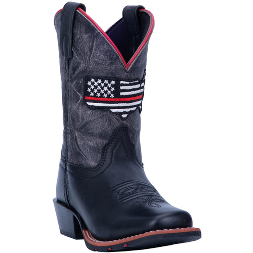 Pard's Western Shop Dan Post Thin Red Line Boots for Children