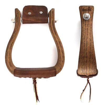 Don Orrell Flat Bottom Rancher Stirrups