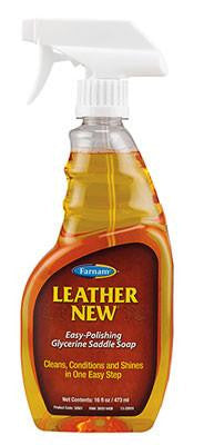 Leather New Liquid Saddle Soap 16 oz.