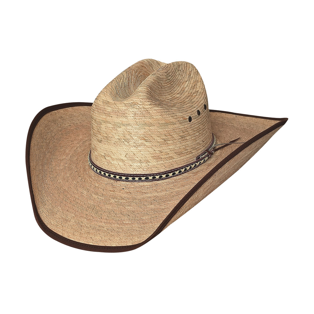 Bullhide Hats 15X Wide Open Palm Leaf Straw Hat