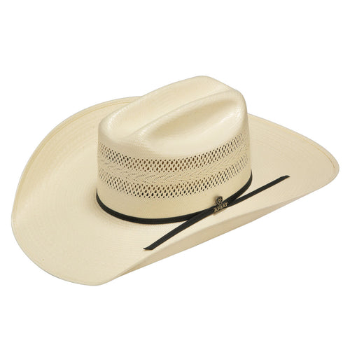 Ariat 20X Natural Shantung Straw Hat