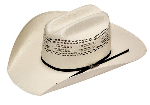 Ivory Bangora Twister Straw Hat by M&F