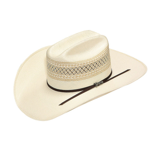 Twister 10X Ivory/Tan Shantung Straw Hat