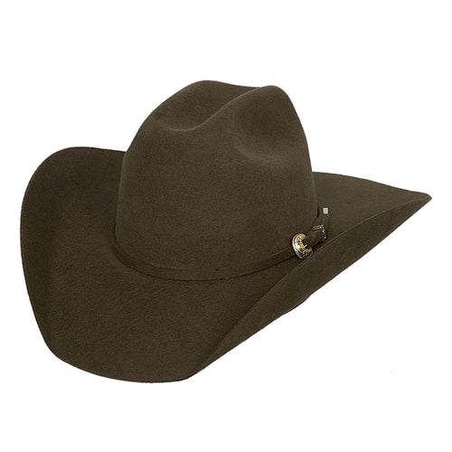Bullhide Hats Chocolate 4X Kingman Felt Hat