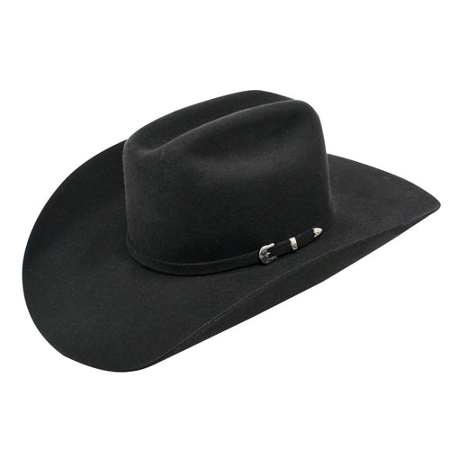 Ariat Black 3X Double S Felt Hat