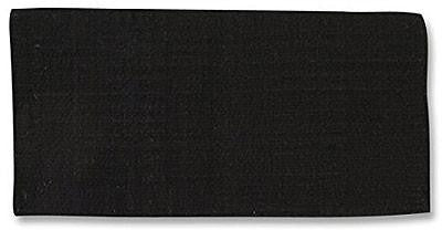 Mayatex Black Oversized Solid Wool Show Blanket (38