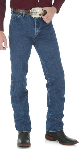 Cowboy Cut Wrangler Slim Fit Stonewashed Jeans