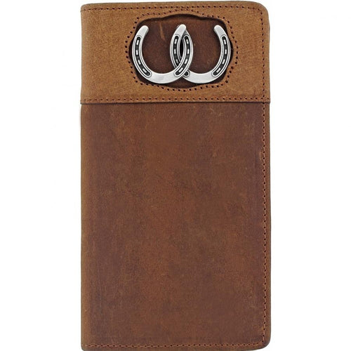 Silver Creek Double Luck Rodeo/Checkbook Wallet