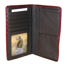Silver Creek Classic Brown Camain Print Cattle Drive Rodeo Wallet