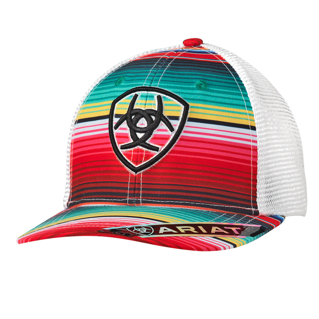 Ladies Ariat Bright Serape Mesh Back Ballcap