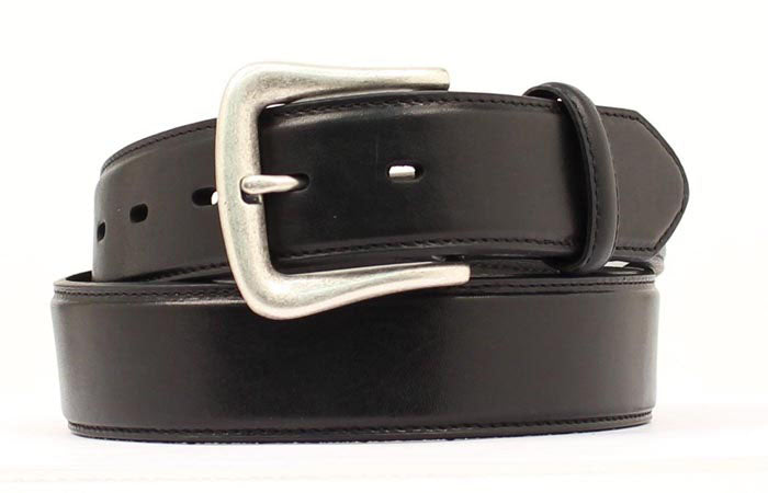 Nocona Black Leather Belt - Larger Sizes Available