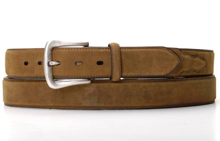 Nocona Brown Leather Belt - Larger Sizes Available