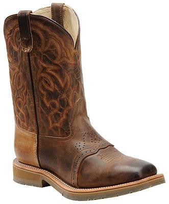 Double H Wide Square Steel Toe Roper Work Boot